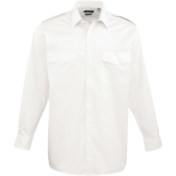 Premier   PR210 - Piloten Hemd langarm