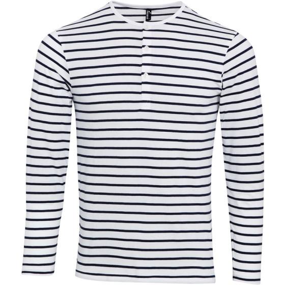Premier   PR218 - Herren Rollärmel T-Shirt langarm