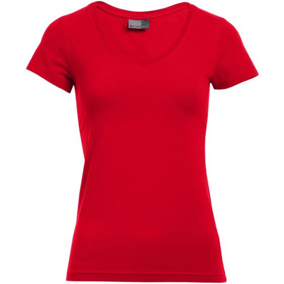 Promodoro | 3086 - Damen Slim Fit V-Ausschnitt T-Shirt