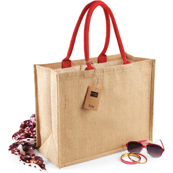 Westford Mill | W407 - Jute Classic Shopper