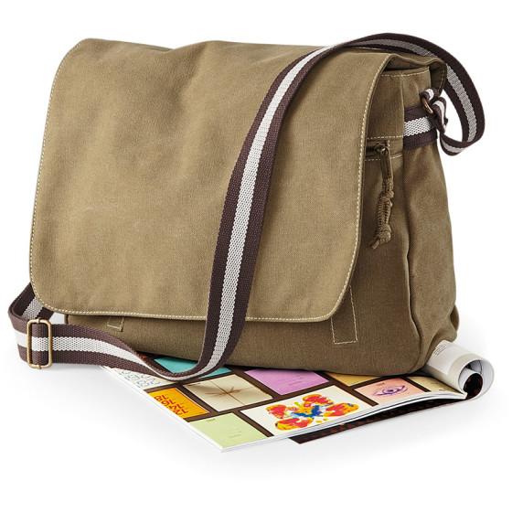 Quadra   QD610 - Vintage Tasche mit Umschlag