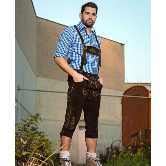 Leather Trousers long/men - Herren Lederhose lang