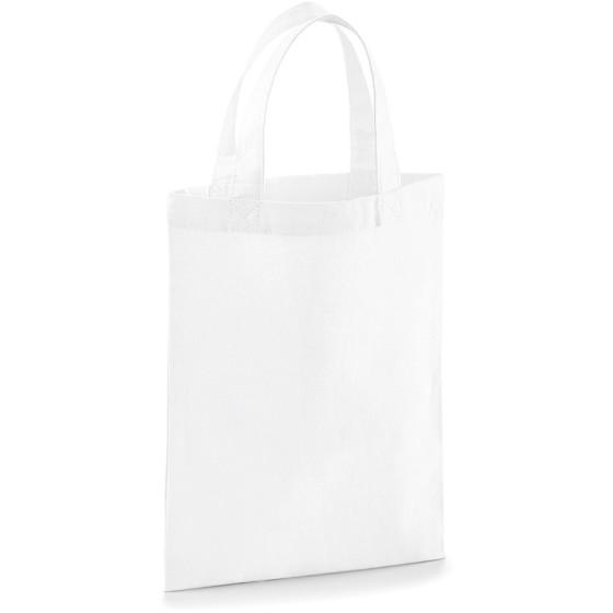 Westford Mill | W103 - Baumwolltasche Mini (white / onesize)