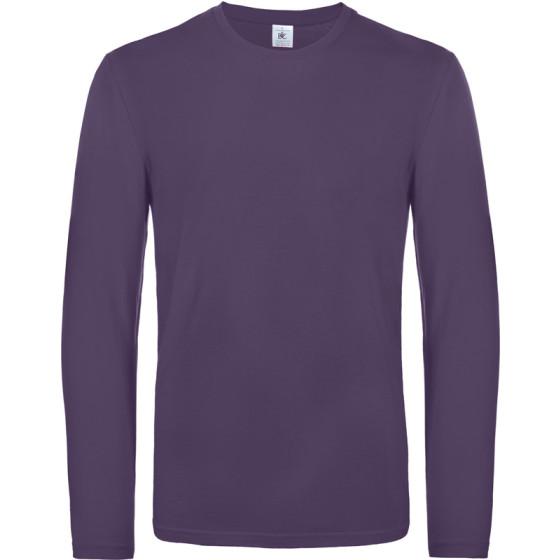B&C | #E190 LSL - Schweres T-Shirt langarm