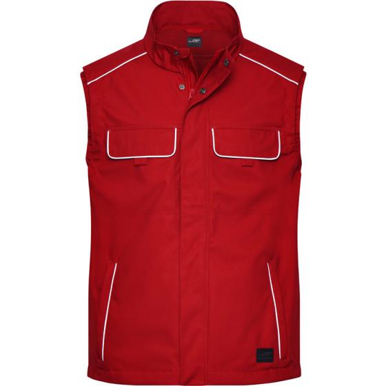 James & Nicholson | JN 881 - Workwear Softshell Light Gilet - Solid