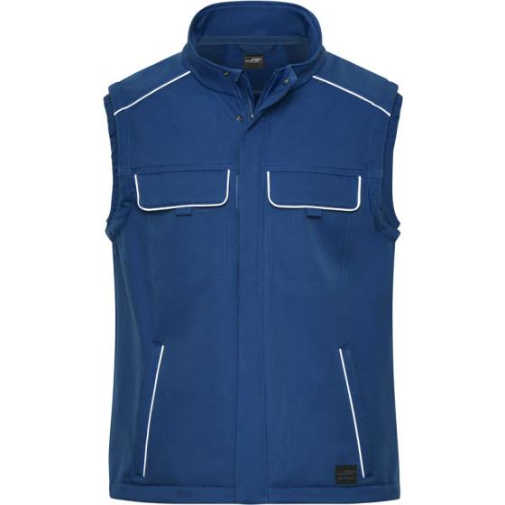 James & Nicholson   JN 883 - Workwear Softshell Gilet - Solid