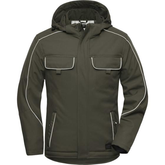 James & Nicholson | JN 886 - Workwear Softshell Padded Jacke - Solid