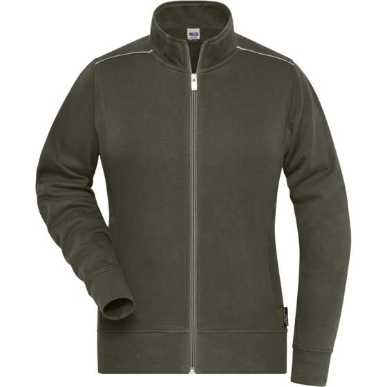 James & Nicholson | JN 893 - Damen Workwear Sweatjacke - Solid