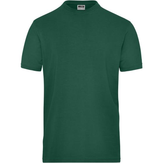 James & Nicholson | JN 1802 - Herren Bio Workwear Stretch T-Shirt - Solid