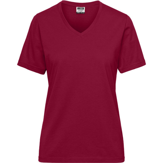 James & Nicholson   JN 1807 - Damen Bio Workwear T-Shirt - Solid