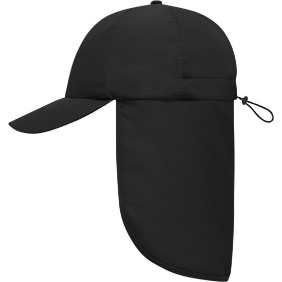 Myrtle Beach | MB 6243 - 6 Panel Kappe mit Nackenschutz