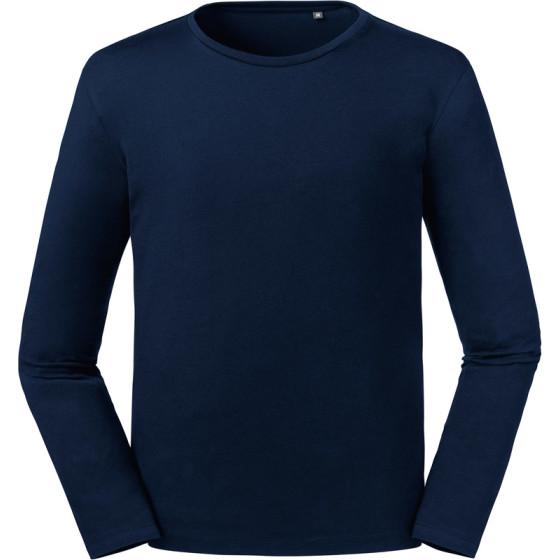 Russell | 100M - Herren Bio T-Shirt langarm