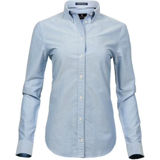 """Tee Jays   4001 - Oxford Bluse """"Perfect"""" langarm"""