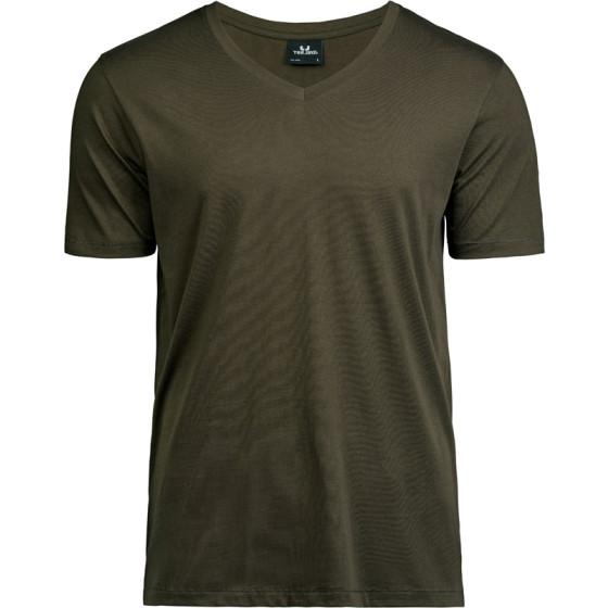 Tee Jays   5004 - Herren Luxus V-Ausschnitt T-Shirt