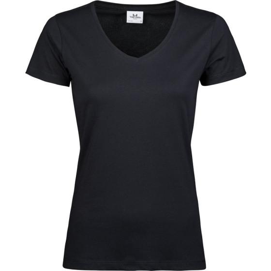 Tee Jays   5005 - Damen Luxus V-Ausschnitt T-Shirt