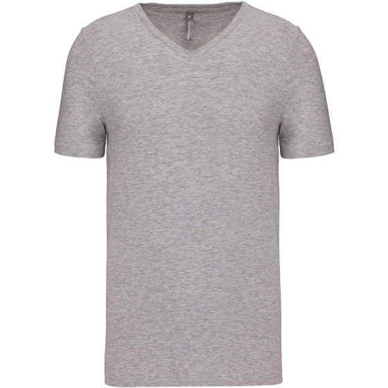 Kariban | K3014 - Herren V-Ausschnitt Stretch T-Shirt