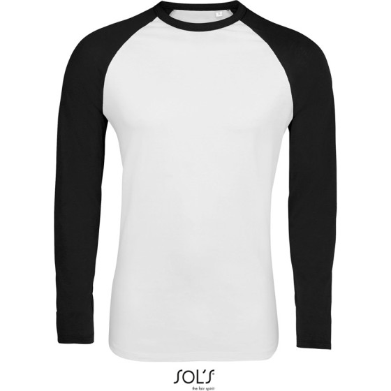 SOLS | Funky LSL - Herren Raglan T-Shirt langarm