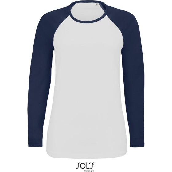 SOLS | Milky LSL - Damen Raglan T-Shirt langarm