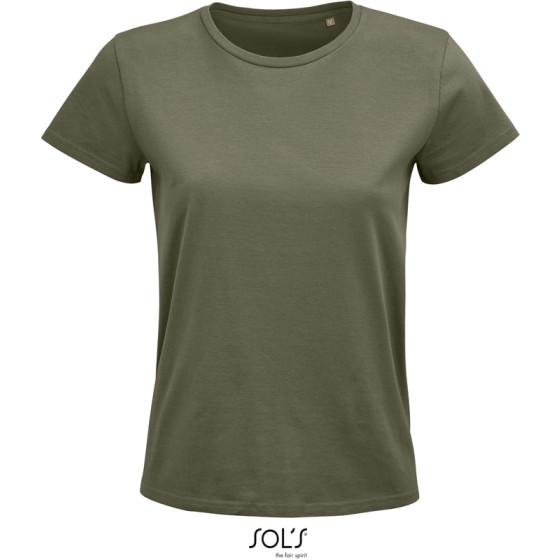 SOLS   Pioneer Women - Schweres Damen Bio T-Shirt