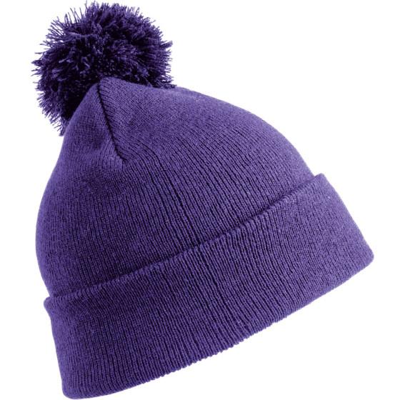 Result Winter Essentials | RC028X - Strickmütze mit Pompon