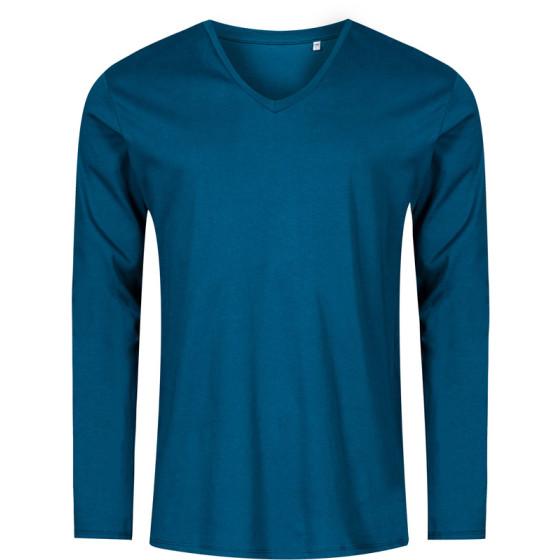 Promodoro | 1460 - Herren V-Ausschnitt T-Shirt langarm - X.O